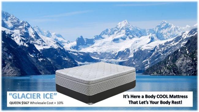 Glacier Ice Hybrid Mattress Rainsville AL